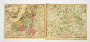 HOMANN, Johann Baptist1664-1724Ducatus Luneburgici / Provinciae XVII Infer GermaniaeKupferstiche,