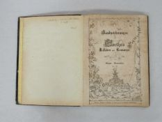 NEUREUTHER, EugenRandzeichnungen zu Goethes Balladen und Romanzen5 Hefte in einem Band,