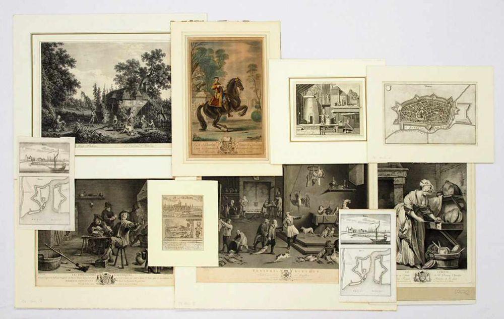 Konvolut Graphik 16.-18. Jahrhundert