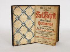 Biblia - Das ist: Die gantze Heil Schrift