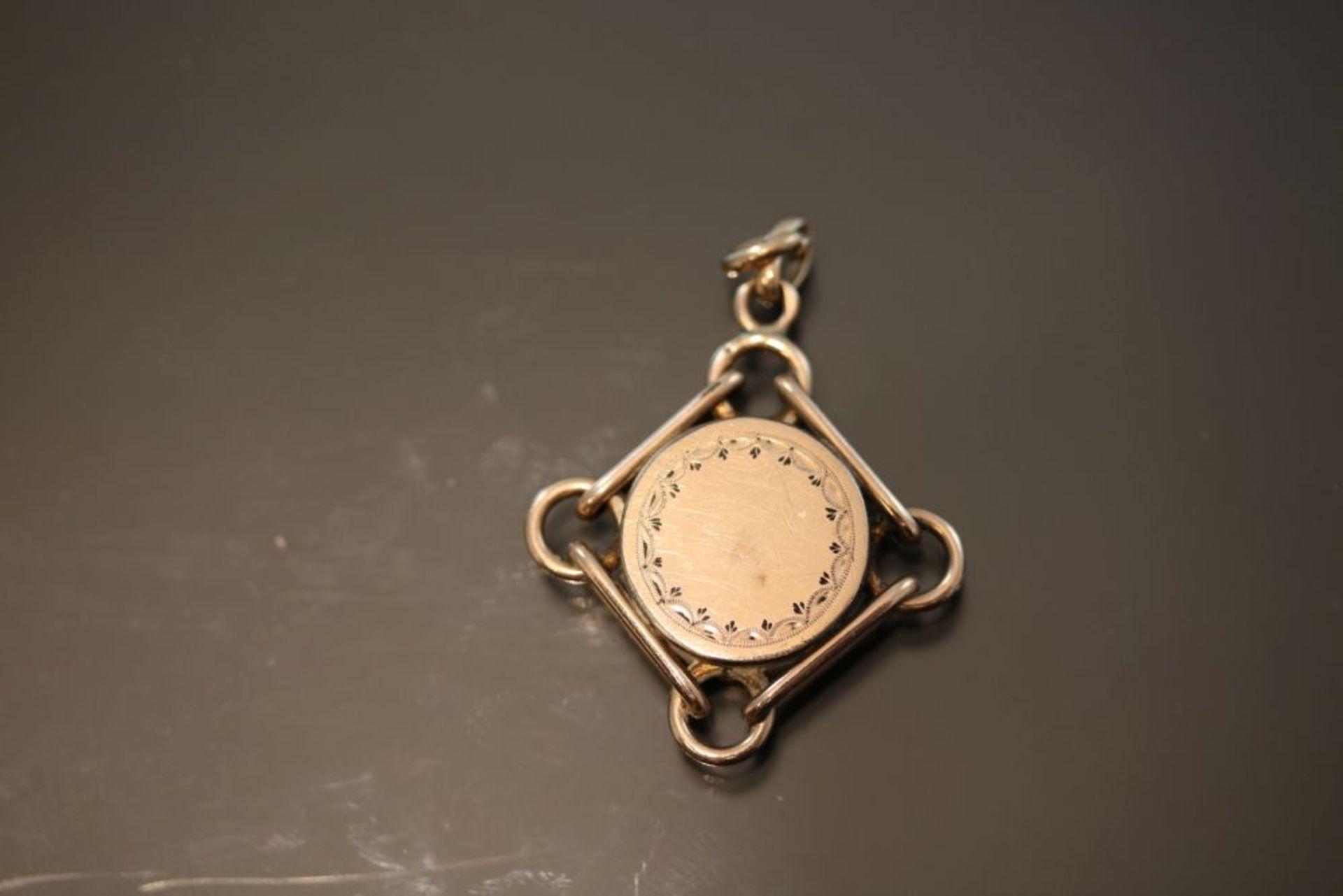 Kompass, 333 Gold - Bild 2 aus 3