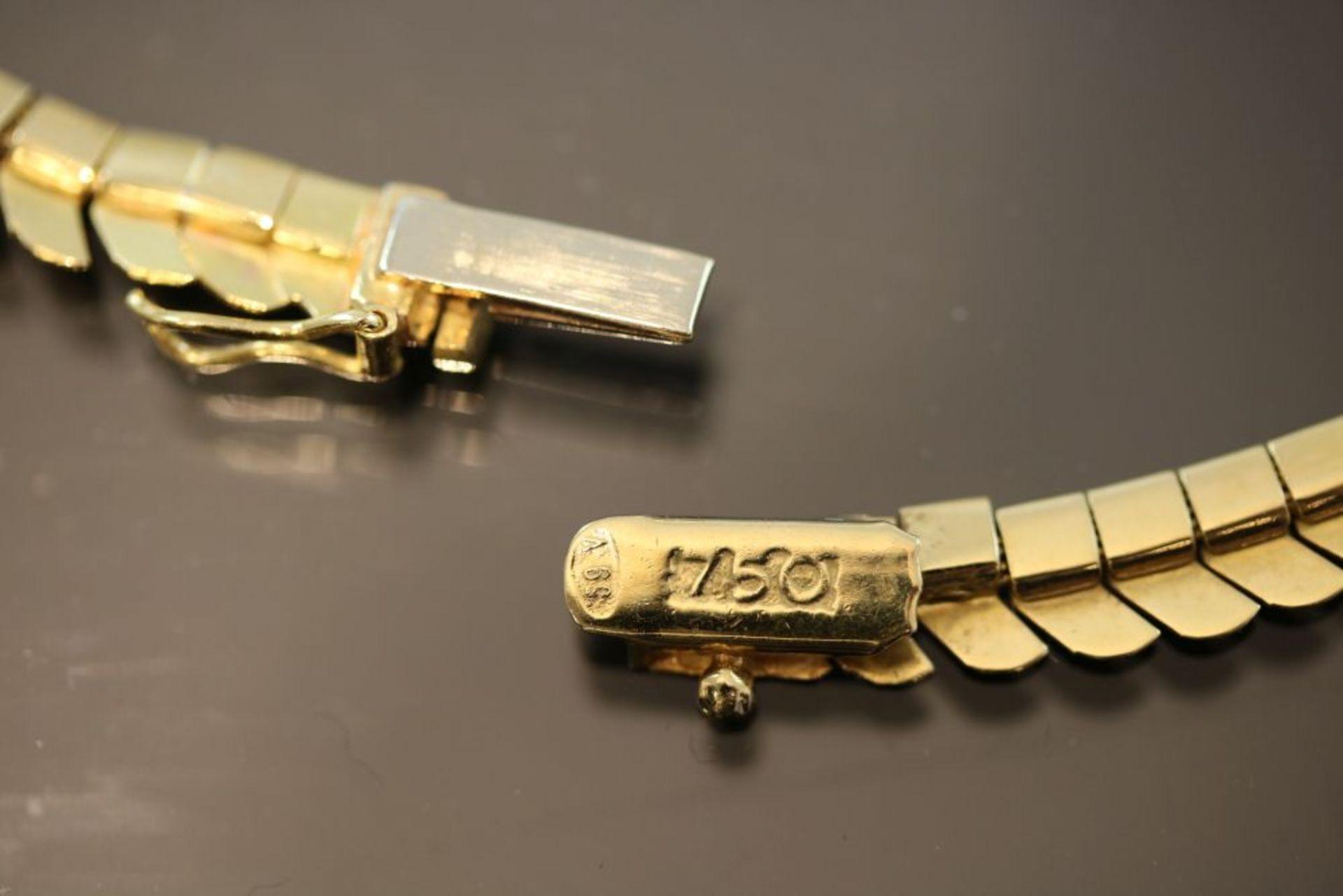 Gold-Collier, 750 Gold - Bild 3 aus 3