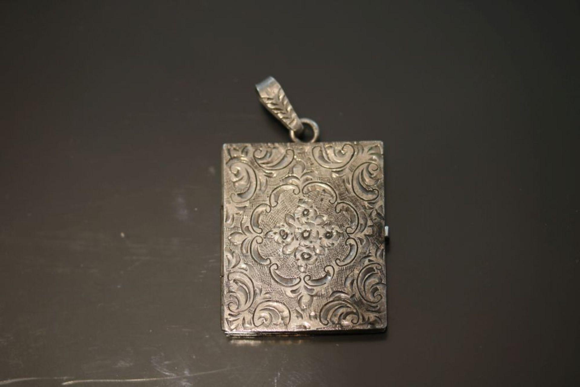 Medaillon, Silber