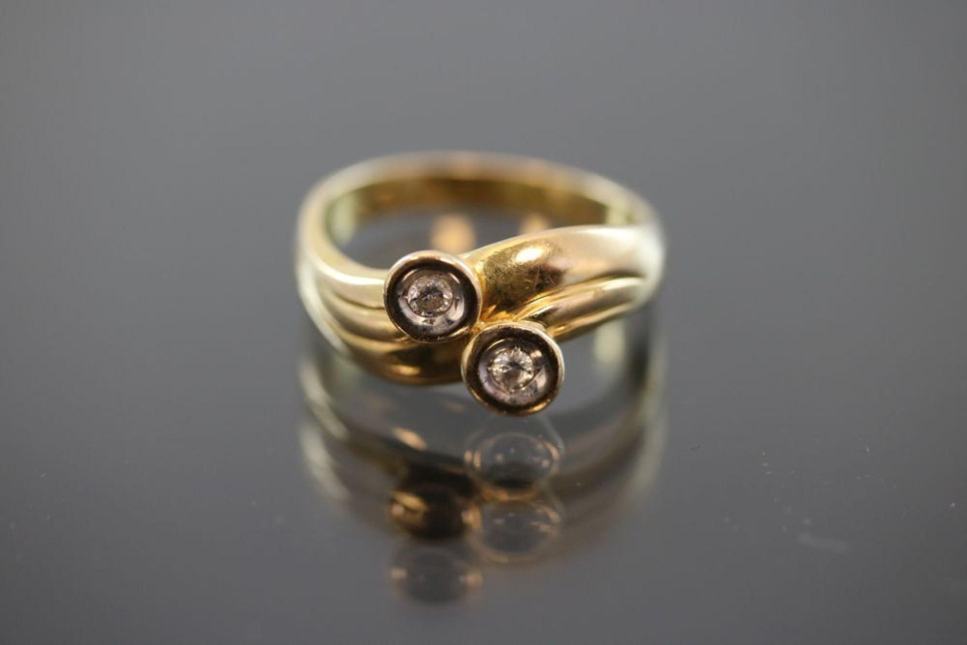 Brillant-Ring, 585 Gold