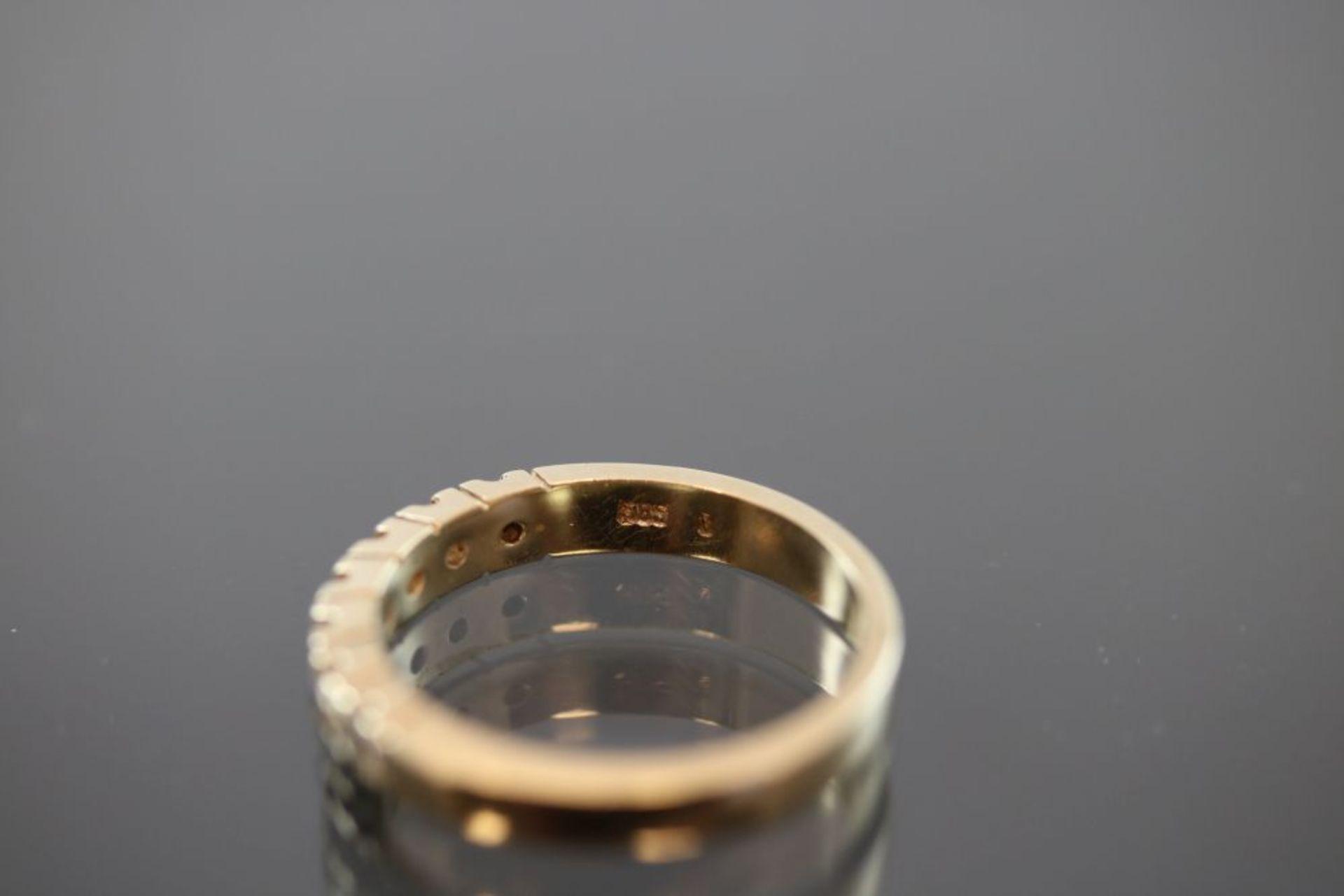 Brillant-Ring, 585 Gold - Bild 3 aus 3