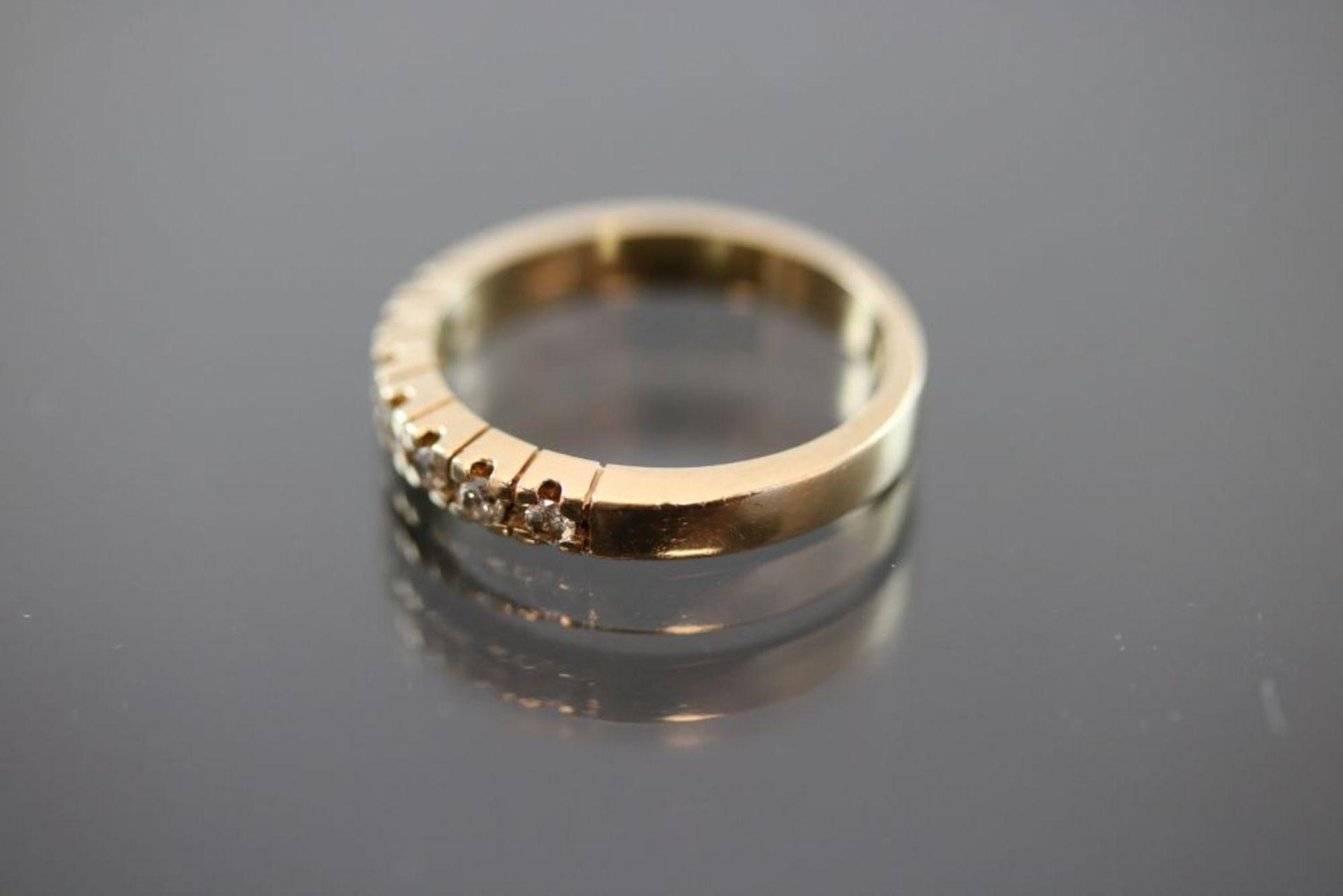 Brillant-Ring, 585 Gold - Bild 2 aus 3