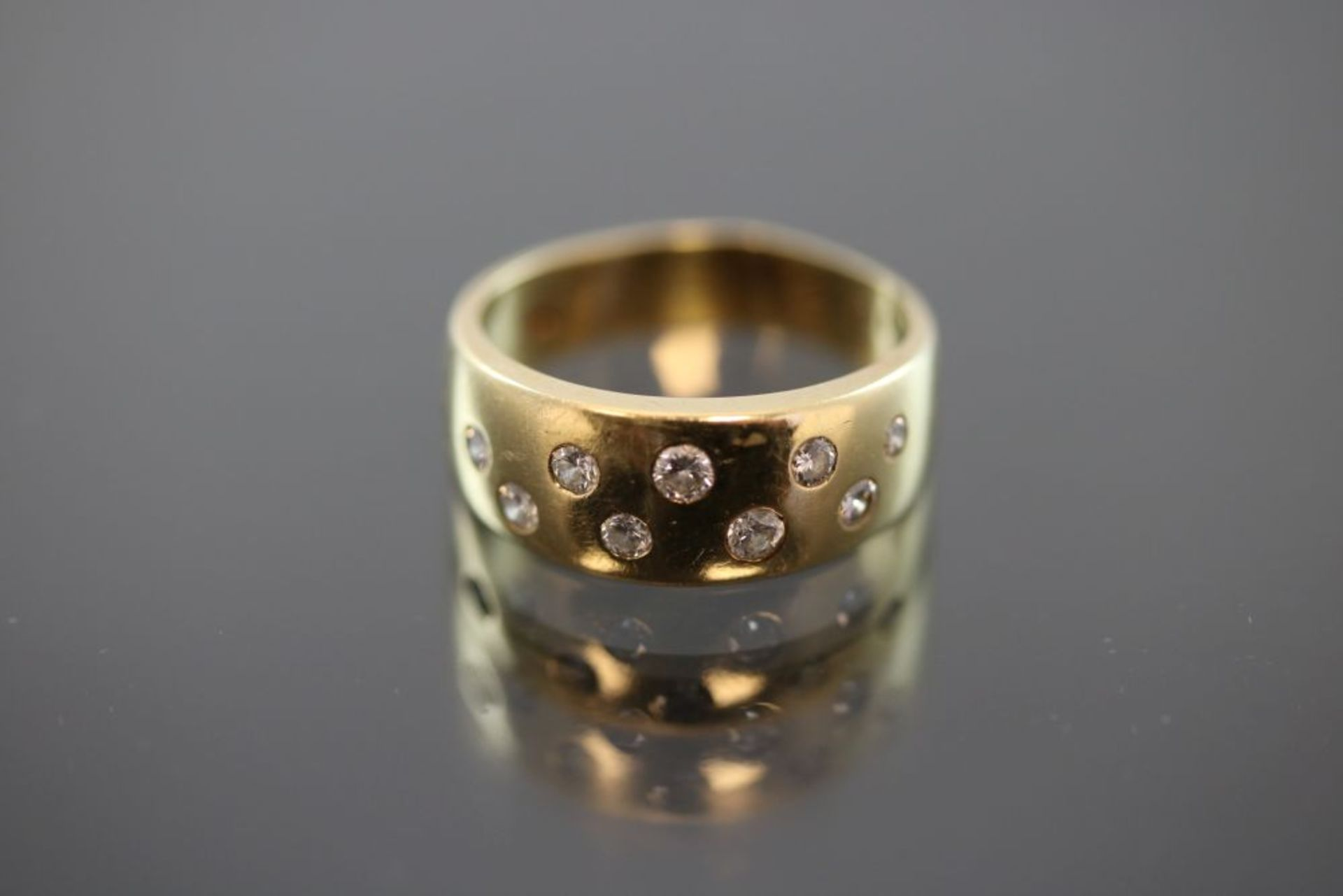 Brillant-Ring, 750 Gold