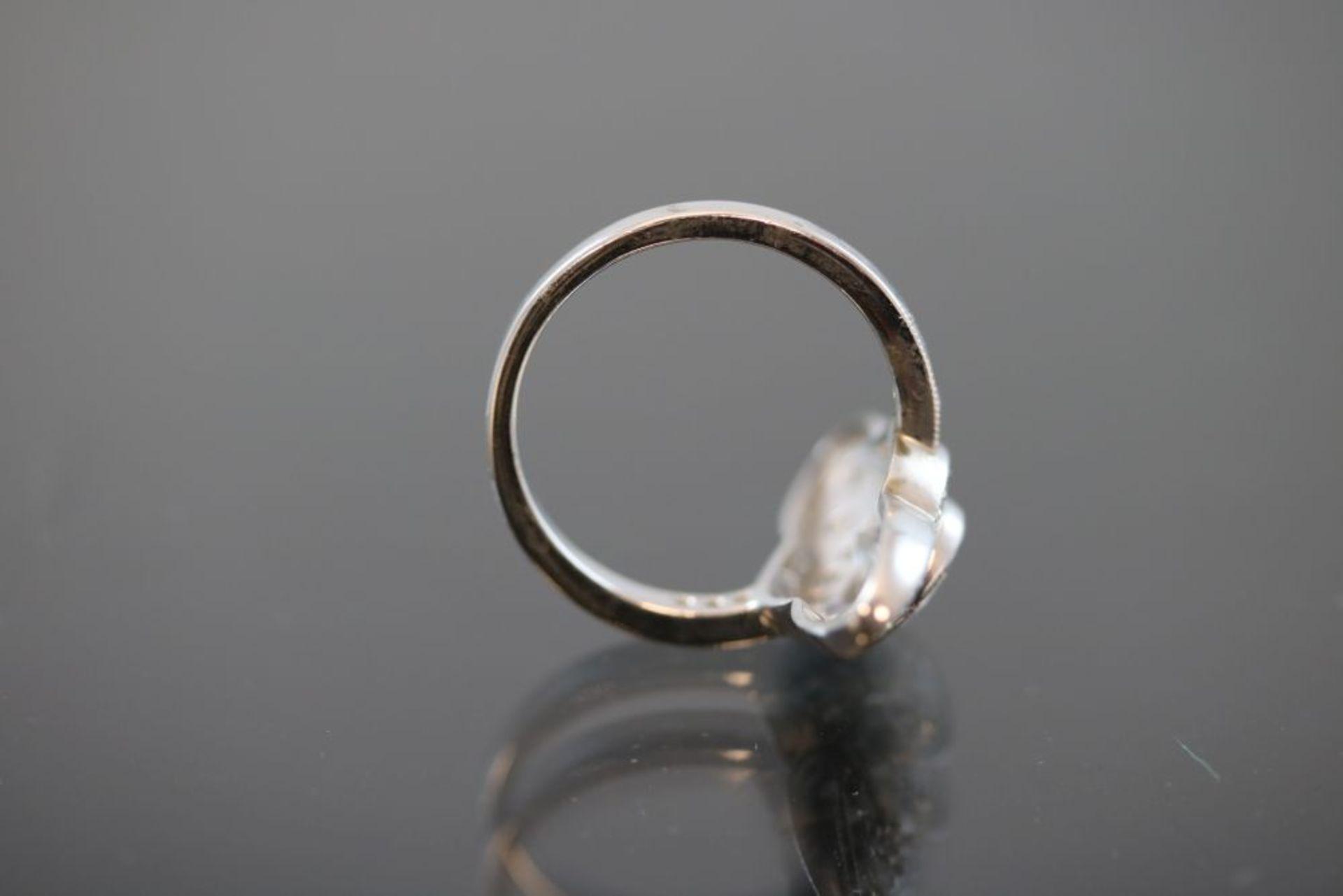 Brillant-Ring, 750 Weißgold - Bild 3 aus 3