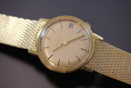 Bulova Accutron Herrenuhr 750 Gold