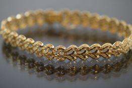Goldarmband, 585 Gold