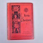 """""""Reichskochbuch"""" v. Eugen Brunfaut, Verlag v. Wilhelm R. Berndt 1898, gut erhalten mit"""