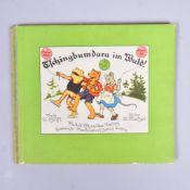 """""""Tschingbumdara im Wald"""", Adolf Holst, Bilder Ernst Kutzen, Rudolf Schneider Verlag 1934 Markersdorf"""