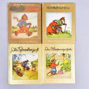 """Konvolut 4 Kinderbücher,"""" Die Schneckenpost"""" v. S. Reinheimer, """"Die Wiesenapotheke"""" v. S."""