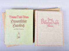 """""""Neues Wilhelm Busch Album"""", Verlagsanstalt H. Klemm, Berlin 1936, mit 1600 Bildern, """"Wilhelm"""