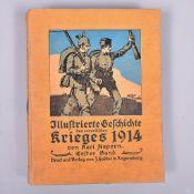 """""""Illustrierte Geschichte des europ. Krieges 1914/15"""" v. K. Aspern. 1. Band, Verl. Josef Kabbel,"""
