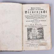 """""""Anweisung zur nützlichsten u.angenehmsten Bienenzucht"""", Pfarrer L. Christ, zweite Auflage,"""