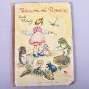 """""""Rosmarin und Thymian"""" Der kleinen Naturkunde 2. Teil, v. Paula Walendy, Nordland Verlag Berlin,"""
