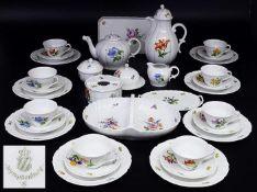 Tee- und Kaffeeservice NYMPHENBURG Marke 1976 - 1997.
