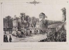 Beerdigungsparade Napoleon.