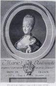 Bildnis Marie Antoniette, Königin von Frankreich.