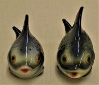 Hummelfiguren Salz und Pfeffer Fische P150B P150A 8cm