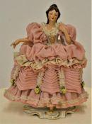 Sandizell Porzellanfigur ca. 18cm feines Bisquitporzellan, keine Bestoßungen<