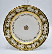 Neppel Porzellan Teller P. Neppel Paris ohne Herstellermarke Ø 22cm