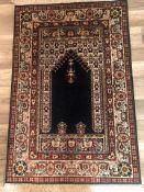Hereke SeideGröße: 92 x 62 cm Provinz: Türkei