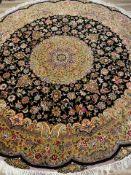 Täbris (rund)Größe 250 x 250 cm Provinz: Iran