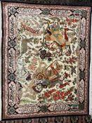 Ghom SeideGröße 105 x 85 cm Provinz: Iran