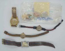 1 Konv. Armbanduhren GG 14ct.