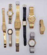 1 Konv. Armbanduhren JUNGHANSMAURICE LACROIX i.d.Schat. Gsp.