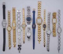 1 Konv. Armbanduhren u.a.z.T. verg. RAYMOND WEIL Genf gek. 2003 u.a. im Karton