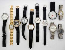1 Konv. ArmbanduhrenMode u.a. z.T. Metall-/Lederband Gsp.