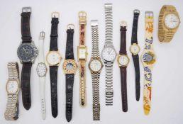 1 Konv. Armband-/TaschenuhrenMetall u.a. versch. im Karton