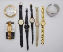 1 Konv. Armbanduhrenu.a. Metall-/Lederband