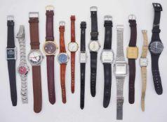 1 Konv. Armbanduhrenversch. Metall u.a.