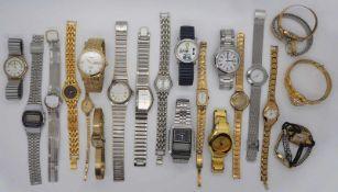 1 Konv. ArmbanduhrenMetall u.a. Tsp.