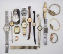 1 Konv. ArmbanduhrenMetall min. Si. im Karton Gsp.