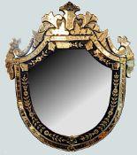 1 venezianischer Spiegel 20. Jh.