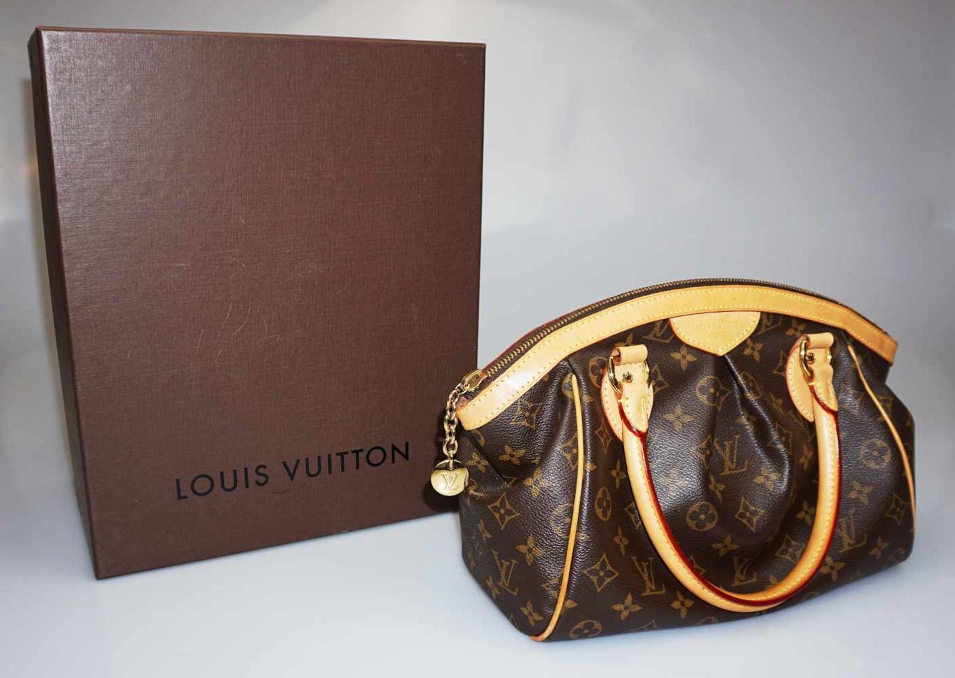 "1 Damenhandtasche LOUIS VUITTON Monogramm Canvas ""Tivoli PM"""