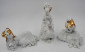 """3 Figuren Porzellan ROSENTHAL """"Die drei Grazien - Largo,Adagio,Andante"""""""