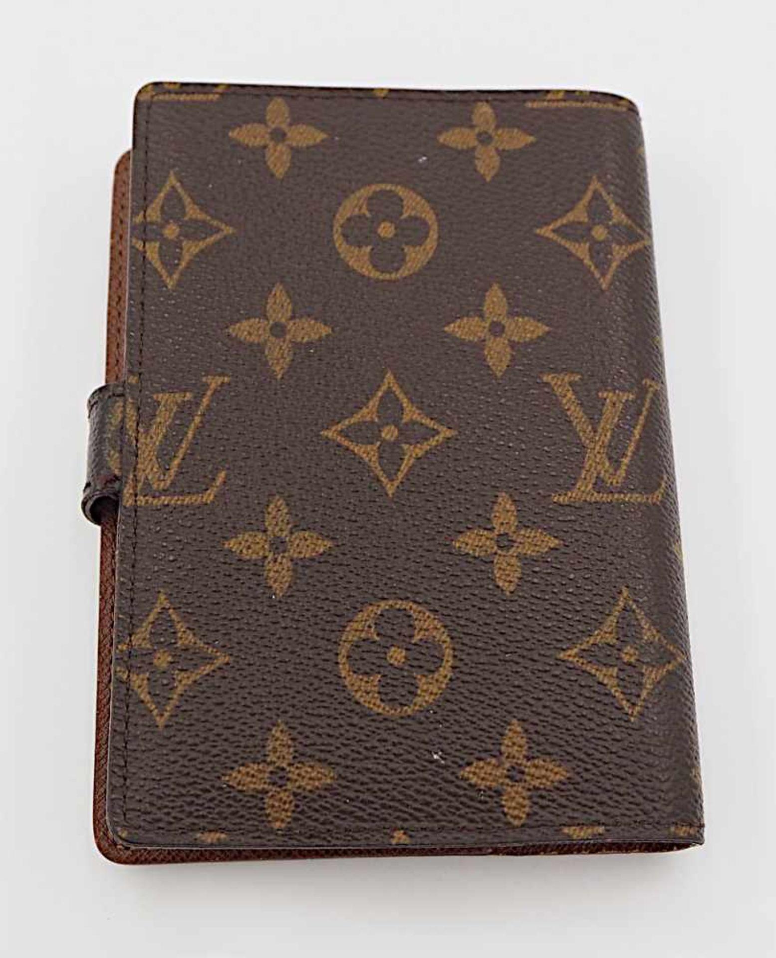 1 Agenda 1 Kugelschreiber Louis Vuitton m. Rechnungskopie monogr. Gsp. - Image 2 of 3