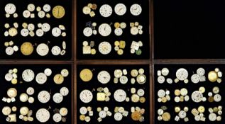 1 Konv. Uhrenwerke verschieden in Schatullen