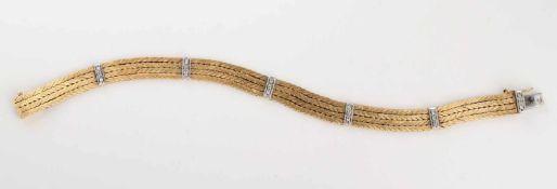 Armband, 750 GG und WG