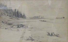 Franz Leinecker, je sig., eines dat. 1867