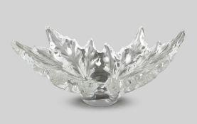 Klarglasschale, Lalique, sig.
