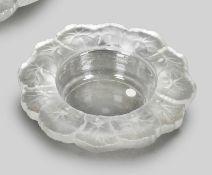 Schale, Lalique, 'Honfleur-Geranium'