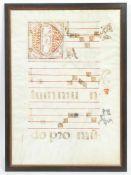 Notenblatt, 16.Jh.