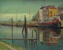 Gerard Drost, r.u.sig., verso ortsbez. Roterdam